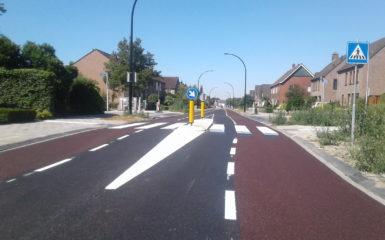 reconstructie Eibergensestraat