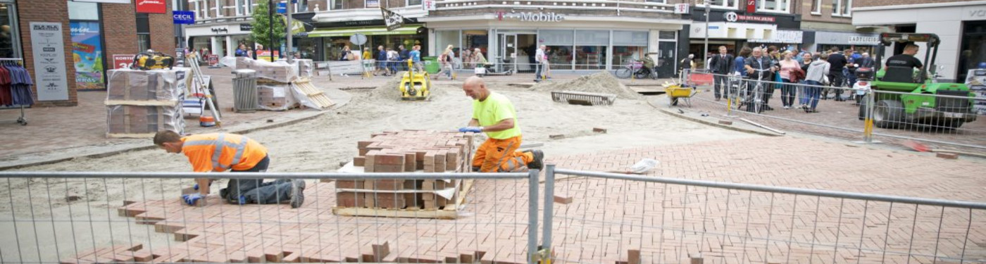 Herinrichting binnenstad Apeldoorn